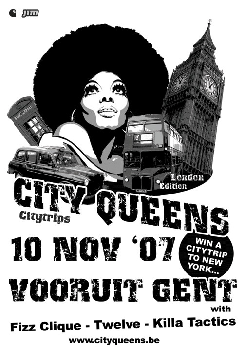 City Queens - Citytrips - Sat 10-11-07, Kunstencentrum Vooruit