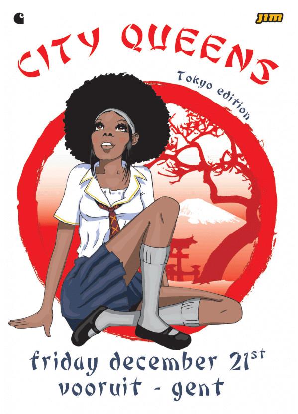 City Queens - Tokyo Edition - Fri 21-12-07, Kunstencentrum Vooruit