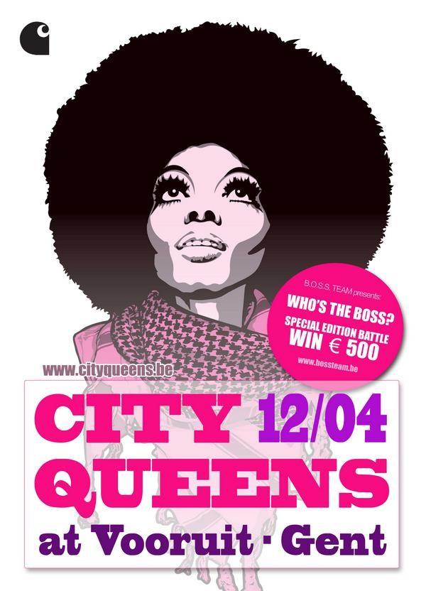 City Queens - Who's the Boss? - Sun 12-04-09, Kunstencentrum Vooruit
