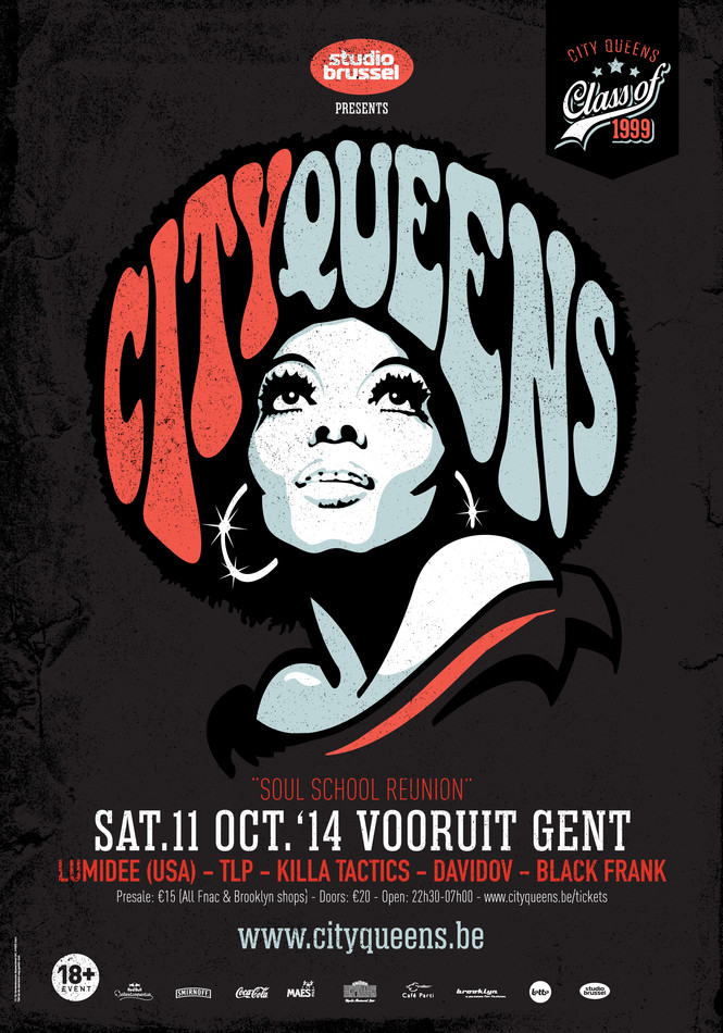 City Queens - Soul School Reunion - Sat 11-10-14, Kunstencentrum Vooruit