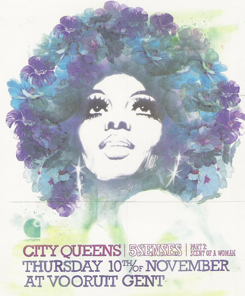 City Queens - 5Senses Pt.2 - Thu 10-11-05, Kunstencentrum Vooruit