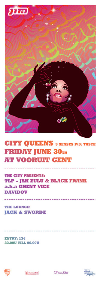 City Queens - Fri 30-06-06, Kunstencentrum Vooruit