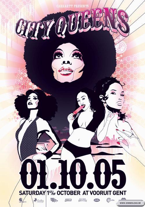 City Queens - Sat 01-10-05, Kunstencentrum Vooruit