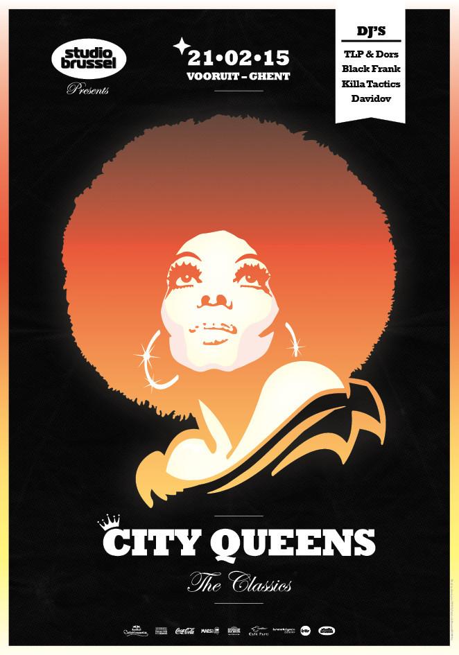 City Queens - The Classics - Sat 21-02-15, Kunstencentrum Vooruit