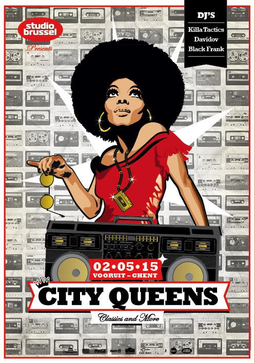 City Queens - Sat 02-05-15, Kunstencentrum Vooruit