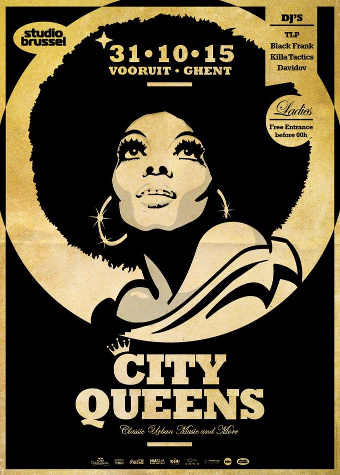 City Queens - Sat 31-10-15, Kunstencentrum Vooruit
