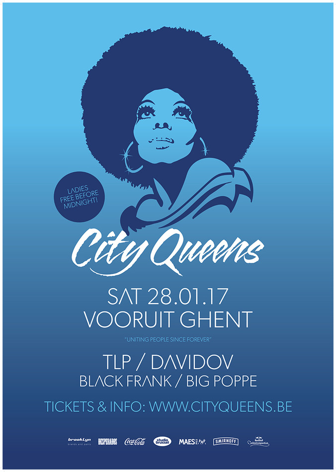 City Queens - Sat 28-01-17, Kunstencentrum Vooruit