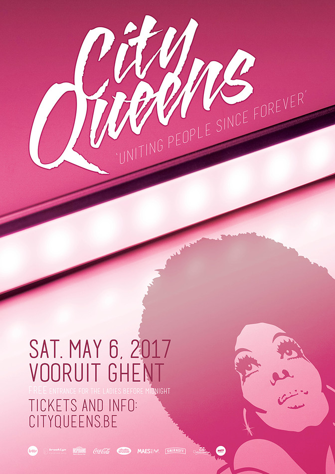 City Queens - Sat 06-05-17, Kunstencentrum Vooruit