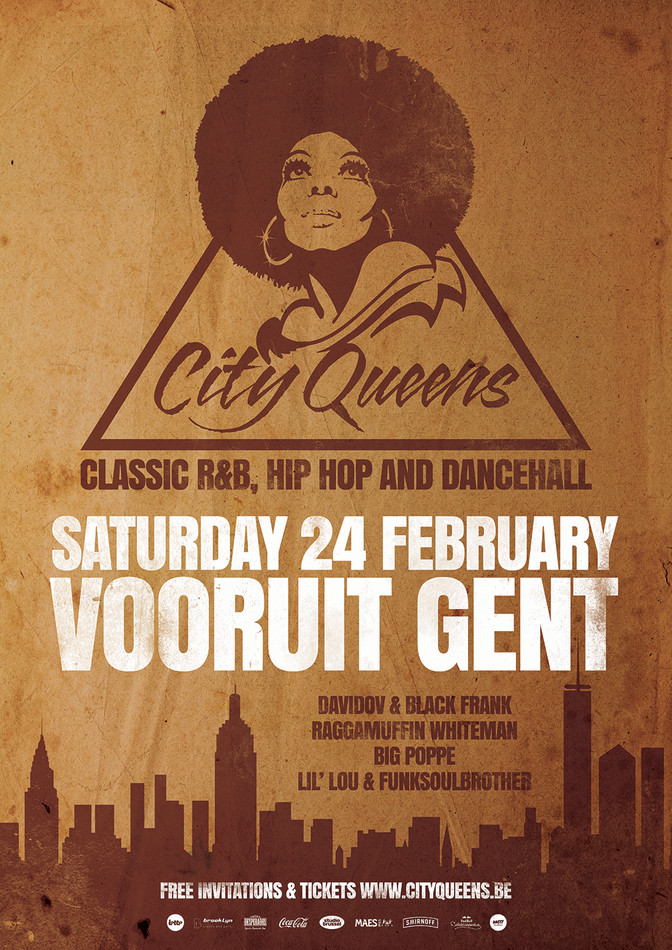 City Queens - She's back! - Sat 24-02-18, Kunstencentrum Vooruit