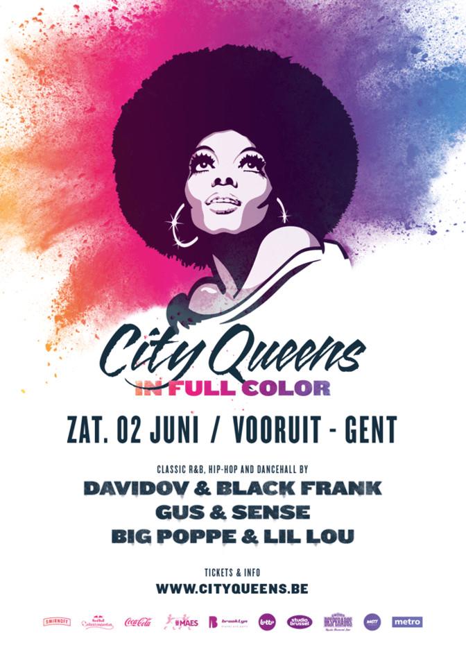 City Queens - In Full Color - Sat 02-06-18, Kunstencentrum Vooruit